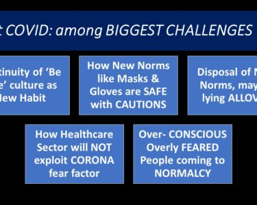 Post COVID - BIGGEST CHALLENGES